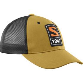 Salomon Trucker Curved Cap, cumin/black